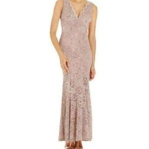 Nightway sequin lace 2 formal gown wedding